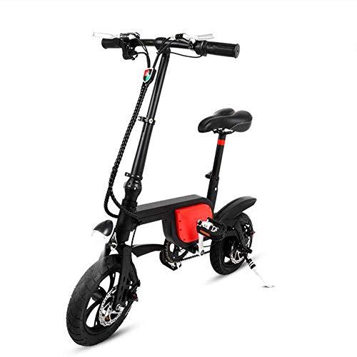 Y&XF Bicicleta eléctrica Plegable de 250 vatios, batería de Litio de 36...