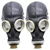 Gasmaske GP5 Set (2 pack) - Sowjetische Militär Gasmaske REPLICA von Oldshop - Sammlerstück - authentischer Look & verschiedene Größen erhältlich M size