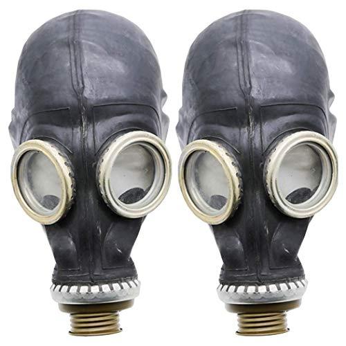 Gasmaske GP5 Set (2 pack) - Sowjetische Militär Gasmaske REPLICA von Oldshop - Sammlerstück Set W/ Maske - authentischer Look & verschiedene Größen erhältlich M size