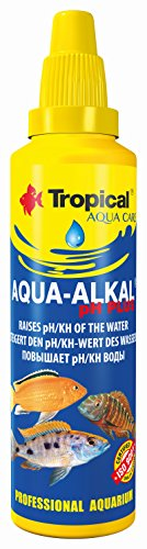Tropische Aqua-Alkal pH Plus verhoogt pH/Kh van de waterfles 30ml 30ml - bottle
