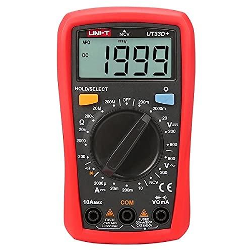Easy Electronics UNI-T UT-33 Digital Multimeter
