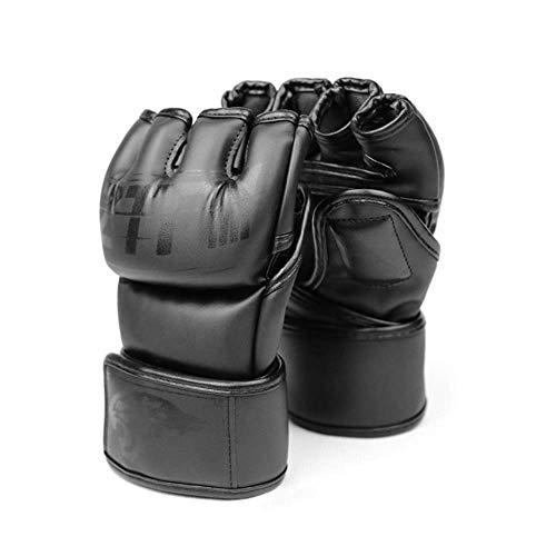 Mma Handschuhe für Männer und Frauen, Kickboxhandschuhe, Boxhandschuhe, offene Handfläche, Boxsack, Handschuhe für Boxen, Kickboxen, Sparring, Muay Thai, M