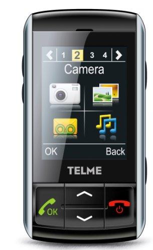 Telme TS 100 Handy (6,1 cm (2,4 Zoll) Touchscreen, 1,3 Megapixel Kamera)