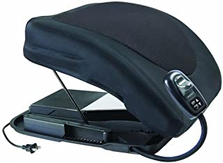Carex Health Brands Premium Power Lifting Seat, Black, 17 Inches by Carex Health Brands