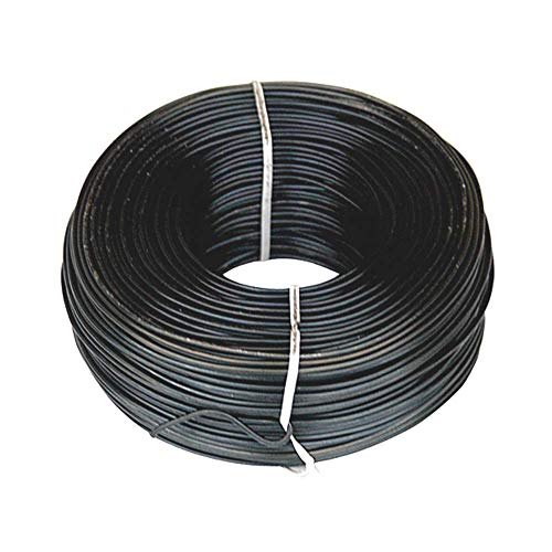 CCTI Rebar Tie Wire - 16 Gauge Black Soft Annealed 3.5 lb. Roll (Approx 340 Ft) - 1 Pack