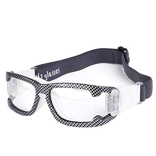 Uteruik Sportbrillen Schutzbrillen Eyewear - Schutzbrille für Basketball Fußball Badminton Radfahren Motorradfahren (Stil - A)