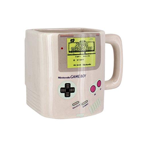 Nintendo Game Boy Keks-Tasse, Keramik, Mehrfarbig, 10 x 13 x 12 cm