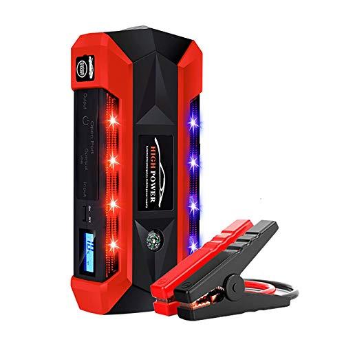 MEILINL YUN Clock Auto Starthilfe Power-Bank Gerät 89800 Mah 600A 12V Jump Starter Booster Akku Batterie 4 USB-Anschluss LED Taschenlampe Unterstützt Das Schnelle Laden