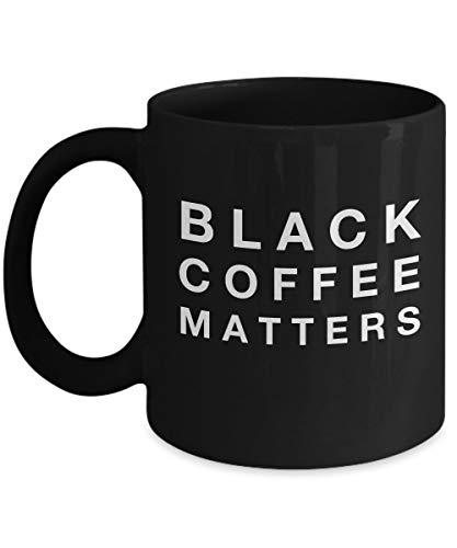 N\A Coffee Lovers Gift Basket-Coffee Lovers Mug-Gift For Coffee Lover-Gifts Coffee Lovers-Coffee Lovers Gift Set-Yesecart-Black Coffee Matters-Funny Coffee Mugs Sarcasmo