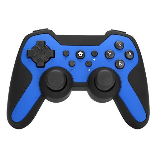 DAUERHAFT Mango inalámbrico para Juegos Batería de Iones de Litio de 400 mah Bluetooth Adecuado para Juegos de Arcade y acción para Gamepad Bluetooth(Blue)
