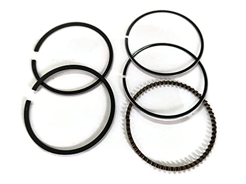 YAMASCO Piston Ring Set 13010-ZH7-004 60MM std compatible with Honda GX120 WD20 WP20 EG EZ 1400 4HP Lawnmower Engine