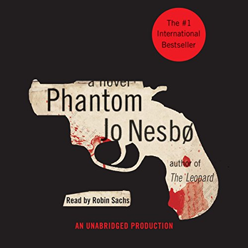Phantom audiobook cover art