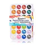 zkm111 - Set de acuarelas básicas de 36 colores con pincel