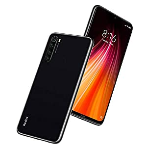 "Xiaomi Redmi Note 8 - Smartphone de 6.3"" FHD+ (Snapdragon 665 Octa Core, 3 GB RAM, 32 GB ROM, cámara trasera cuádruple de 48 MP, batería de 4000 mAh) Space Black [International Version]"