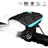 Bike Headlight Rechargeable LETOUR 12W Waterproof LED Portable Lights 3 Brightness Mode