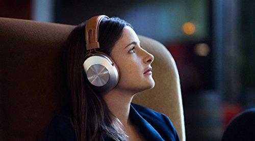Pioneer SE-MS7BT, Auriculares de Tipo Diadema (HiRes, Power Bass), Cable/NFC/Bluetooth, 25.5 x 20 x 11 cm, Marrón