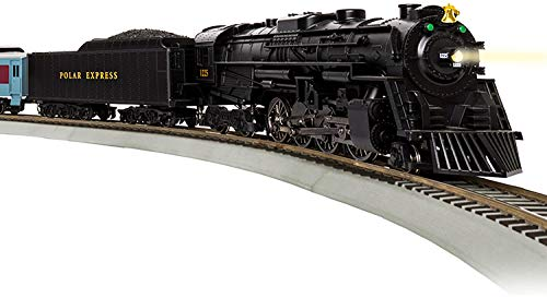 Lionel The Polar Express LionChief 2-8-4 Set with Bluetooth Capability, HO Gauge Model Train Set with Remote