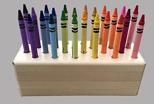 Crayon Holder Storage Caddy Organizer Gift School Art Kids Great for Birthdays or Christmas