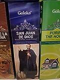 Qaromas Incienso Goloka San Juan de Dios 6x20