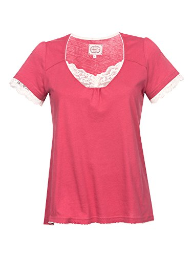 Vive Maria Basic Lace Shirt T-Shirt Beere S