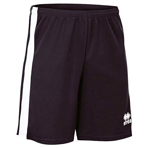 BOLTON Trainingshose (kurz) · UNISEX Sporthose mit Kontraststreifen Größe M, Farbe schwarz-weiß, Farbe schwarz - weiß