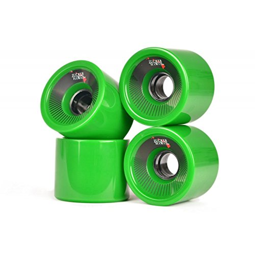 JUCKER Hawaii Longboard Rollen Allround Cruiser Wheels Kahuna (Set - 4 Rollen)