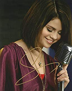 Selena Gomez STUNNING In Person Autographed Photo