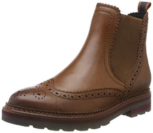 MARCO TOZZI Damen 2-2-25440-23 Chelsea Boots, Braun (Cognac Ant.Com 372), 39 EU