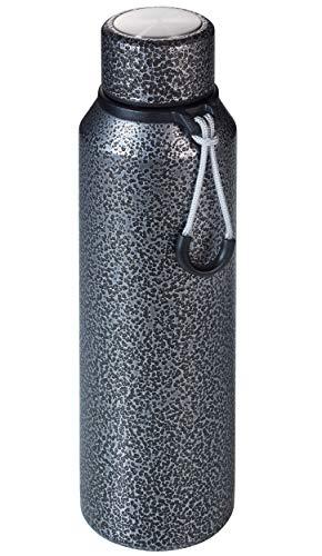 Troika GEYSIR - VAC23/TI - isoleerfles - drinkfles, thermofles - 720 ml - voedselveilig - voor warme en koude dranken - 18/10 roestvrij staal, siliconen mat - titanium kleuren origineel