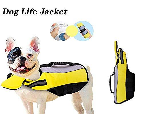 Chaleco salvavidas para perro, plegable, portátil, airbag