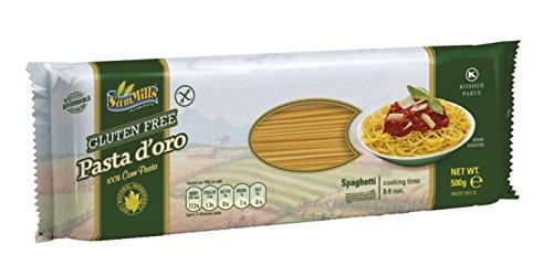 Pasta d´oro – Glutenfreie Nudeln (Spaghetti) aus Maismehl 12er Pack (12 x 500 g)