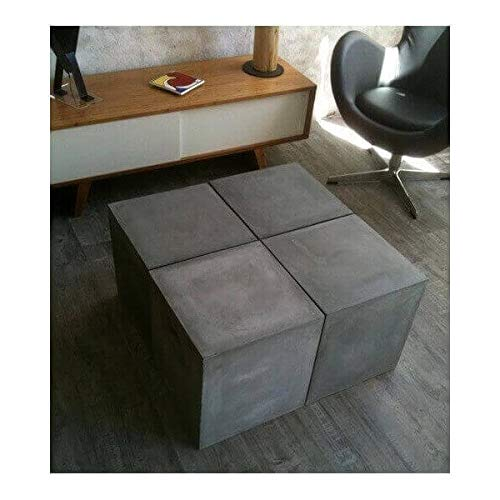 MATHI DESIGN Table modulable Beton