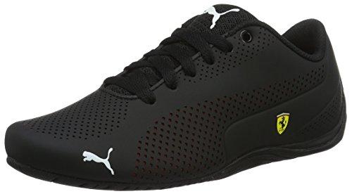 Puma SF Drift Cat 5 Ultra, Unisex-Erwachsene Sneakers, Schwarz (puma Black-Rosso Corsa-puma Black 02), 42.5 EU (8.5 Erwachsene UK)