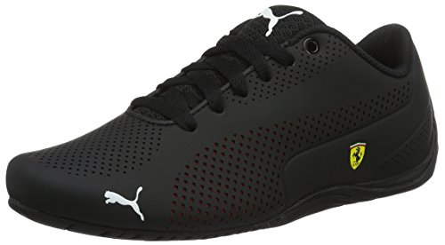 PUMA Unisex-Erwachsene SF Drift Cat 5 Ultra 305921-02 Low-Top, Schwarz Black-Rosso Corsa Black 02, 42 EU
