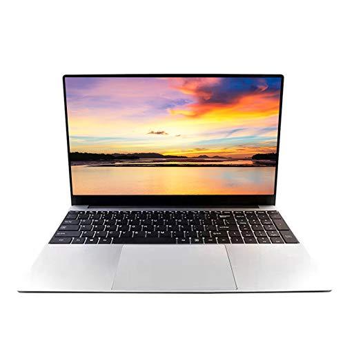 15,6 Zoll Laptop Notebook, Intel J3455 Quad Core CPU, 8 GB RAM, 128 GB SSD, Windows 10 Pro Betriebssystem, Full HD IPS 1920 x 1080, Frontkamera, Schüler Online Klassenzimmer Computer, HDMI
