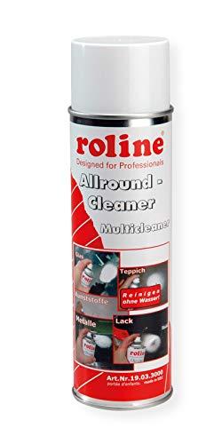 ROLINE Allzweck Reiniger | Allround-Cleaner | Reinigungsschaum in Sprühdose | Inhalt: 500ml