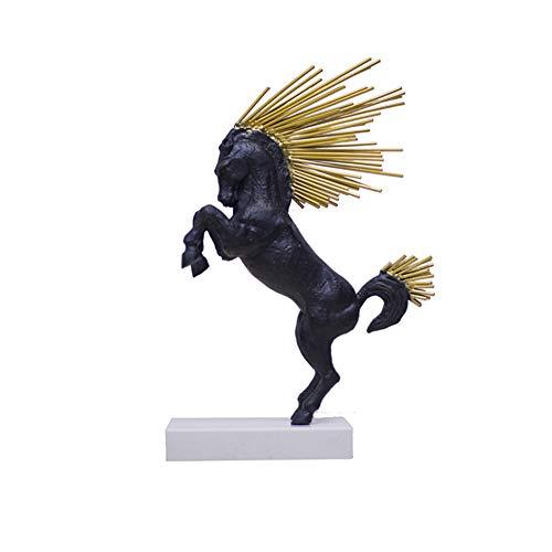 Modern Interieur Sculptuur Accenten Nordic Stijl Geluk Paard Abstracte Decoratie Creatieve Woonkamer Ingang Tv Kast Wijnkast Decoraties