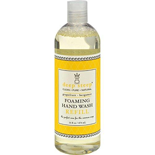 Deep Steep Foaming Handwash Refill Grapefruit Bergamot - 16 fl oz by Pure Life Soap Co.