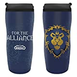 ABYstyle - World of Warcraft - Taza térmica - 35 cl - Alianza