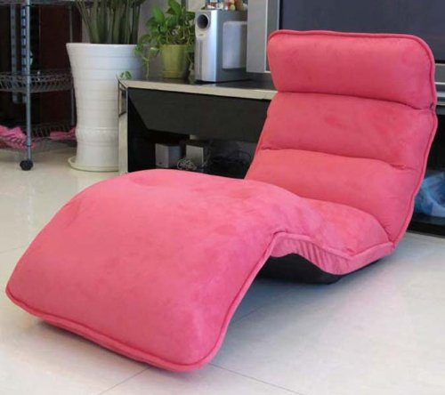 175x55x15cm Recliners Filled with Memory Foam Futon Chair Plush ...