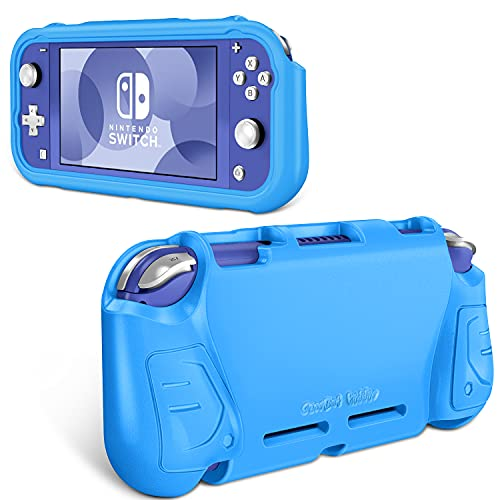 Fintie Case for Nintendo Switch Lite 2019 - Kids Friendly [Ultralight] [Shockproof] Anti-Scratch Protective Cover w/Ergonomic Grip Comfortable Grip Case for Switch Lite Console (Blue)