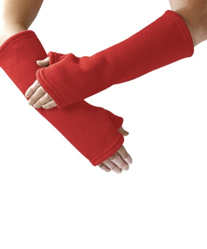 Arm Protectors - Arm Protection and Warmer For Women and Men - Red