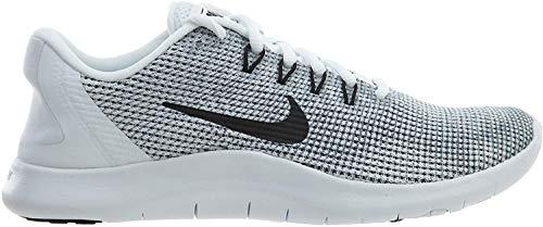 Nike Damen Wmnsflex 2018 Rn Sneakers, Mehrfarbig (White/Black/Cool Grey 001), 39 EU