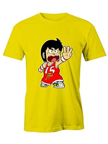 Puzzletee T-Shirt Gigi La Trottola - 15 - Anime - Cartoni Animati - Film Cult - Anni 80 - Idea Regalo