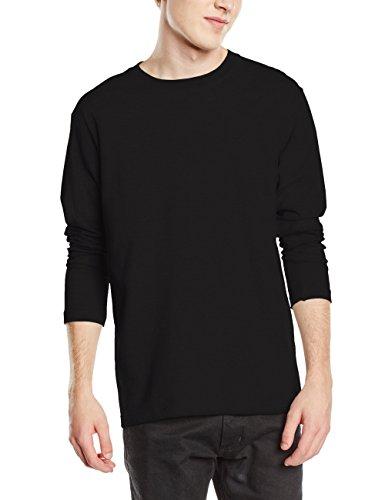 Stedman Apparel Comfort-T Long Sleeve/ST2130 T-Shirt, Noir-Black Opal, X-Large Homme