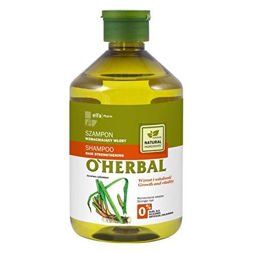 O'Herbal Shampooing renforçant les cheveux à l'extrait de racine de Calamus 600g