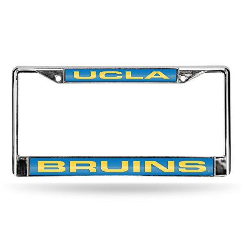 Rico Industries NCAA UCLA Bruins Laser Cut Chrome Plate Frame