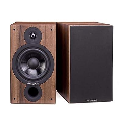 Cambridge Audio SX-60, Entry Level Standmount Speakers per pair (Walnut) from CAMBRIDGE AUDIO