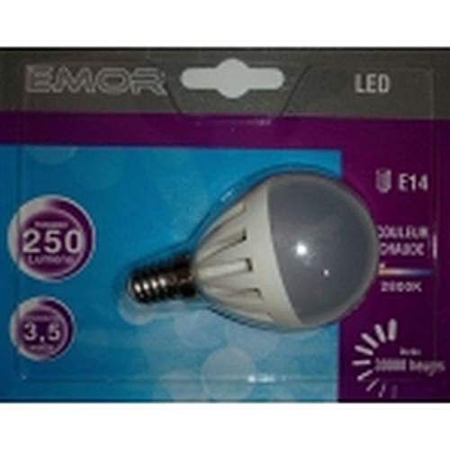 EMOR - 1 x AMPOULE LED E14 - MINI-GLOBE - G45 3.5