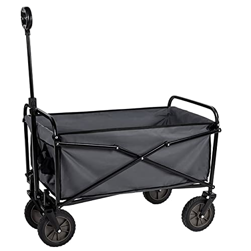 Camp Active Trolley – inklapbaar – compacte opslag – belastbaarheid 70 kg – 63 x 52 x 82 cm – zwart